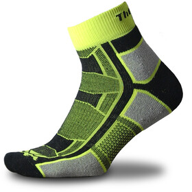 Thorlos Outdoor Athlete Quarter Length Socks, yellow jacket